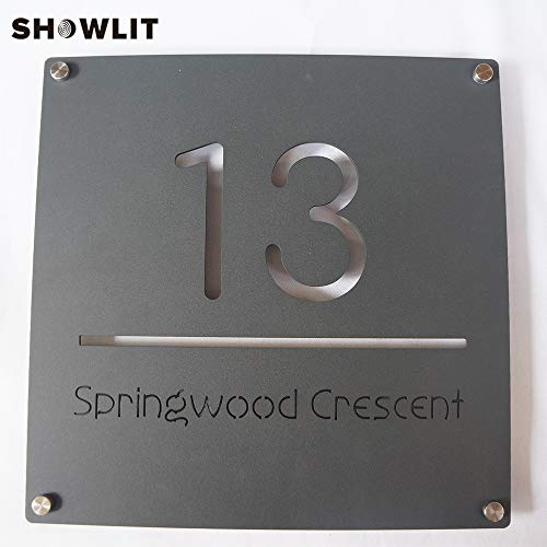 [해외]2mm Rusted Steel Home Number Sign Square Size Laser Cutting Door Plaques Custom House Number Plate / 2mm Rusted Steel Home Number Sign Square Size Laser Cutting Door Plaques Custom House Number Plate