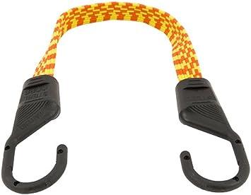 Keeper 06105 Ultra 18 Orange//Yellow Flat Bungee Cord