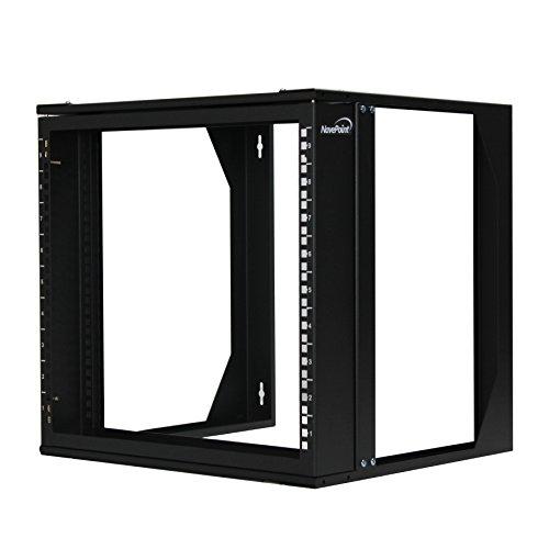 Swing Rack (NavePoint 9U Wall Mount IT Open Frame 19