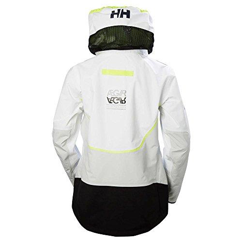 Aegir Helly Race Hansen Chaqueta Del tamaño Medium m Mujer Blanco W Fabricante q7FSxFwZ