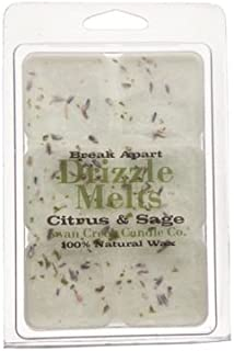 product image for Citrus & Sage 4.75 oz. Swan Creek Candle Drizzle Melts