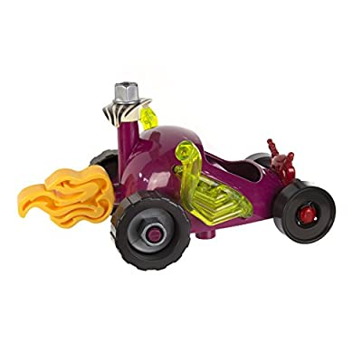 B. Toys Build-A-Ma-Jigs Roadster – 16-Piece Set – Teaches Beneficial Development Skills – Interchangeable with Other Build-A-Ma-Jig Sets – Ages 4 and Up: Toys & Games