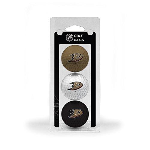 Team Golf NHL Anaheim Ducks Regulation Size Golf Balls, 3 Pack, Full Color Durable Team Imprint