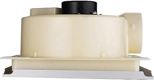 QIQIDEDIAN Ventilador de Escape JC300-A Integrado en la tubería de Techo Ventilador de ventilación Cocina silencioso Extractor baño baño Escape Fuerte: Amazon.es: Hogar