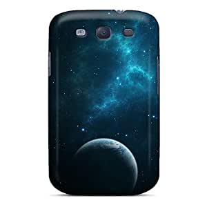 Premium [FXr11226EhHA]dark Blue Space Cases For Galaxy S3- Eco-friendly Packaging