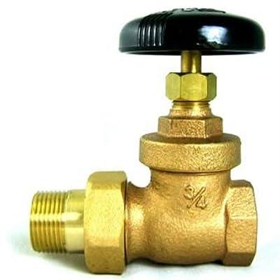"Plumbers Overstock UV35407 Bronze Steam Radiator Gate Valve, 1-1/2"" from Plumbers Overstock"