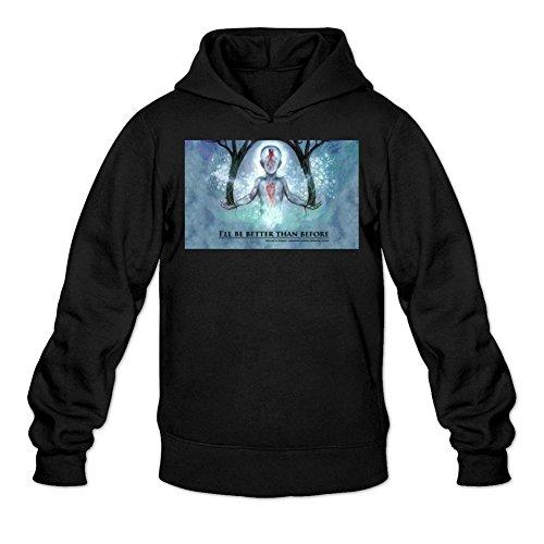 Niceda Men's We Came As Romans Background Long Sleeve Sweatshirts (La Pavoni Glass)