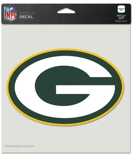 NFL Green Bay Packers Die-Cut Color Decal, 8