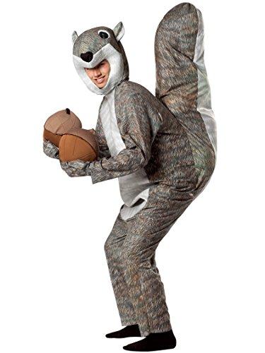 Rasta Imposta Costumes (Rasta Imposta Squirrel Costume, Gray, One Size)
