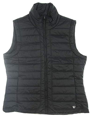 Straight Down New Womens Glacier Vest Medium M Black W10142