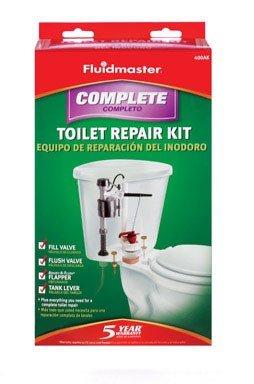 Fluidmaster 400AKRP10 Toilet Tank Complete Repair Kit by Fluidmaster