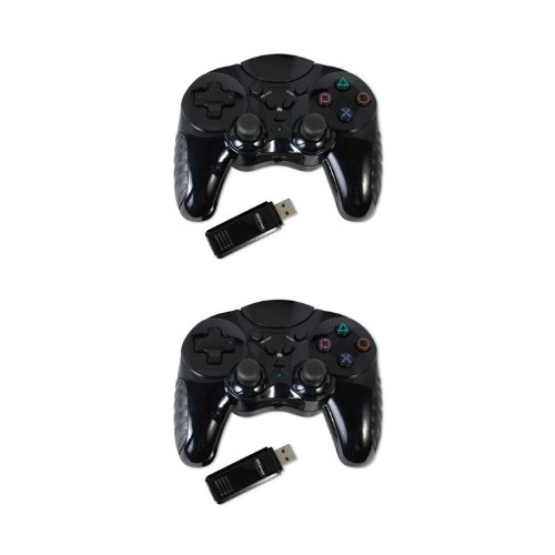 2 pack of 2.4 Ghz Wireless controller for Sony Playstation 3