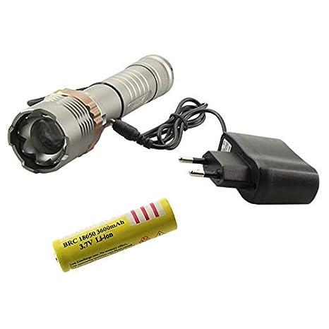 Super brillante 5000 lúmenes CREE XM-L T6 LED linterna 18650 ...