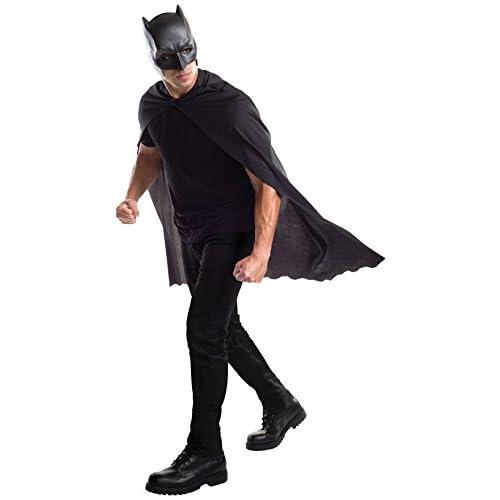 Rubies Ensemble officiel cape et masque Batman pour adulte Taille unique Noir