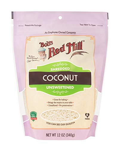 (Bob's Red Mill Shredded Coconut, Unsweetened, 12 Oz)