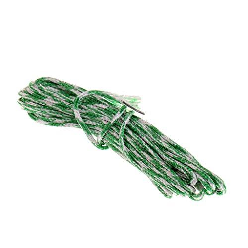 Jili Online High Performance Lead Core Leadcore Fishing Line PE Braided Line 15lb - Green White