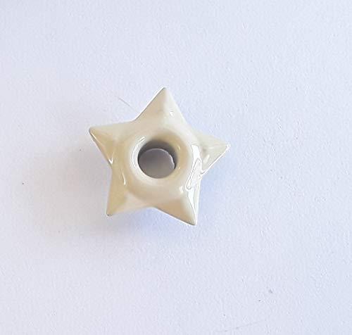 - 50 piece Antique White Star 1/8