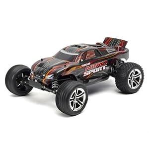 Traxxas Nitro Sport: 2WD Stadium Truck with TQ 2.4 GHz Radio (1/10 Scale), Black