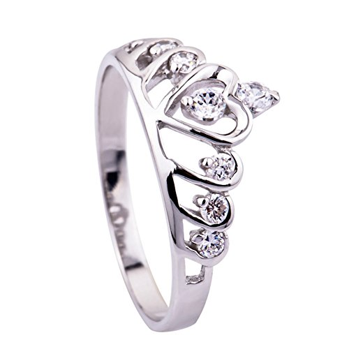 YFN Sterling Zirconia Princess Engagement