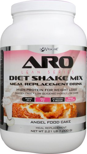 Cheap ARO-Vitacost Lean Series Diet Shake Mix Angel Food Cake — 2.21 lbs (1000 g)