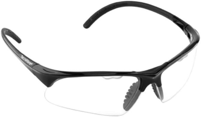 Tecnifibre Gafas Protección Deporte Senior Negro: Amazon.es ...