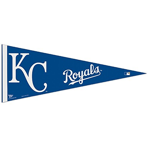 "MLB Kansas City Royals WCR63802112 Carded Classic Pennant, 12"" x 30"""