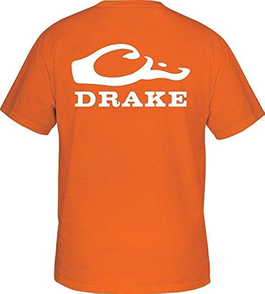 Cabeza de pato Drake aves acuáticas manga corta con logotipo del equipo de fútbol, Anaranjado: Amazon.es: Deportes y aire libre
