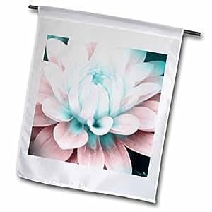 PS Flowers - Baby Pink Dahlia Floral - Flowers - Art - 18 x 27 inch Garden Flag (fl_51335_2)