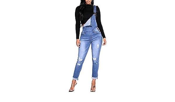 Pantalones Jeans Skinny de Mujer Cintura Alta Elásticos ...