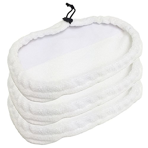 3 Bissell Mop Pad 1867 203-2158, 2032158, 3255 Replacement Steam Shark Lite Easy as pie