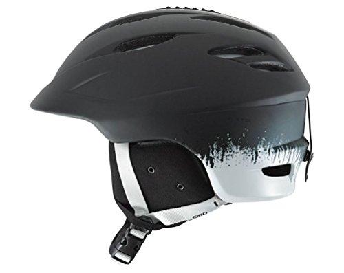 Giro Seam Snowboard Ski Helmet Matte Black Emulsion Small