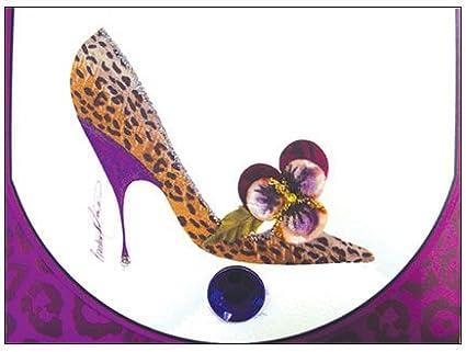 head over heels leopard print shoes