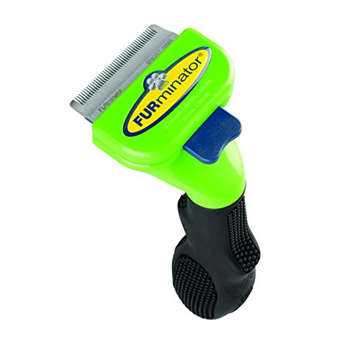 FURminator Short Hair deShedding Tool for Dogs, Small