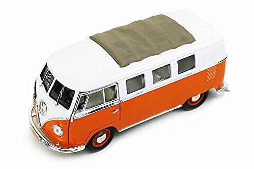 92327OR 1962 Volkswagen Microbus w/ Fabric Sliding SunRoof 92327OR 1/18 scale Yatming wholesale diecast model 48913gz9wkd car diecast car 0bhb6q9rt3 dkaio45 vds1 92327OR