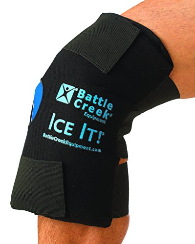 Hot and Cold Therapy Knee Wrap - With Bonus Gel ()