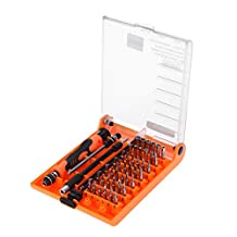 Jakemy JM-8130 Interchangeable Magnetic 45 In 1 Precision Screwdriver Set Repair Tools For iPhone iPad PC