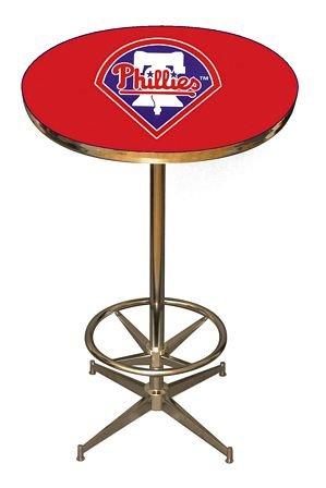 Mlb Philadelphia Phillies Table - Imperial MLB Team Pub Table Style: Philadelphia Phillies