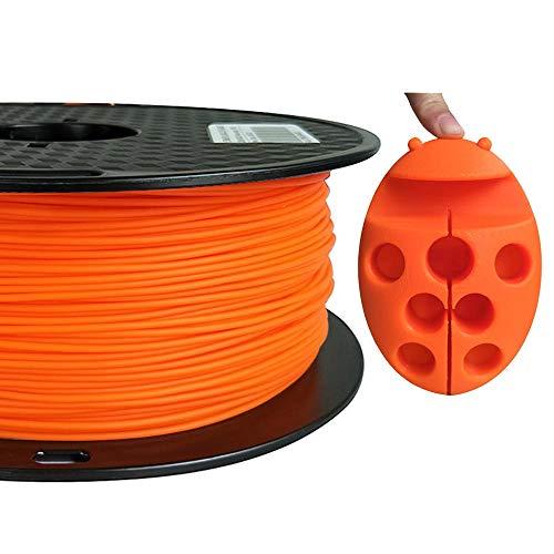 PLA MAX Orange PLA Filament 1.75mm High Strength Than PLA PRO PLA+ PLA Plus 3D Printer Filament 1KG 2.2LBS Spool 3D Printing Material CC3D PLA MAX Filament