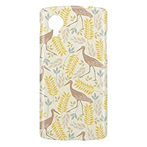 Loud Universe Nexus 5 Spring Flamingo Print 3D Wrap Around Case - Multi Color