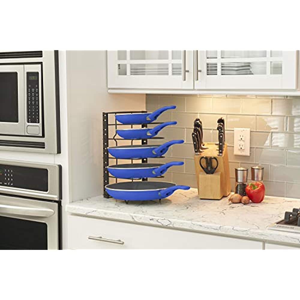 Pan Organizer Rack For Cabinet Under As Counter Top ...
