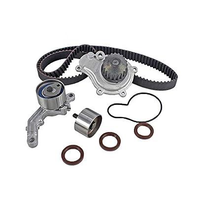 DNJ TBK151AWP Timing Belt Kit with Water Pump for 2003-2010 / Chrysler, Dodge, Jeep/Caravan, Liberty, PT Cruiser, Sebring, Stratus, Voyager, Wrangler / 2.4L / DOHC / 16V / EDZ/VIN 1, VIN 9: Automotive