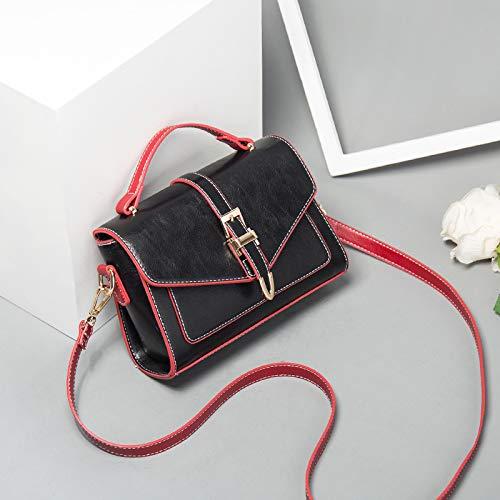 Mode Xmy Dame Sac Messenger À Épaule Portable Noir Main Petit Femme Sauvage De qavr1n4q