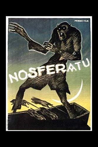 Nosferatu Dracula German Retro Silent Movie Poster Journal: Vintage Horror Film Notebook