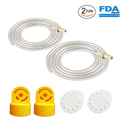 Two Tubes, 2 Valves and 2 Membranes for Medela Pump in Style