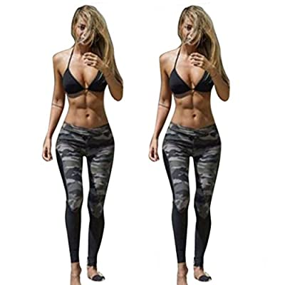 2019 Womens Yoga Workout Fitness Sports Leggings Trouser Athletic Pants