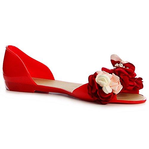 Sandales Sandales Sandalettes Rouge topschuhe24 Sandalettes Sandalettes topschuhe24 Femmes topschuhe24 Sandales Femmes Rouge Femmes 0dFAnOwqI