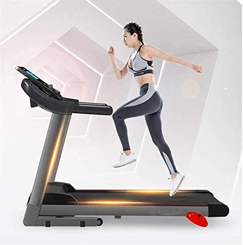 Running Machines Foldable Electric Running Machines, Treadmills for Home, Multi-Function Treadmills,Home Comfortable Fitness Equipment Electric Treadmill Motorised Running Machine With Incline Electri 2