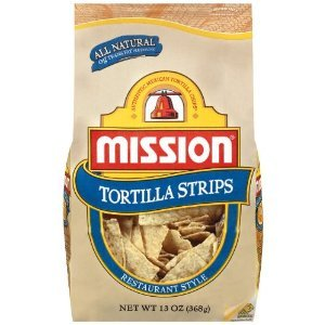 - MISSION TORTILLA STRIPS RESTAURANT STYLE 13 OZ