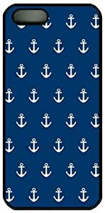Anchor Pattern Theme Hard Back Cover Case For HTC One M7 Cover