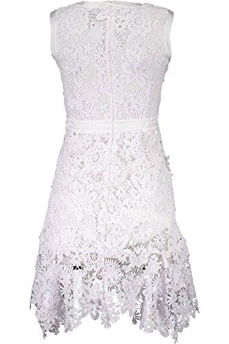 Bianco S04CT0746 100 Kleid Kurtzes Just Cavalli Damen 76fwHX
